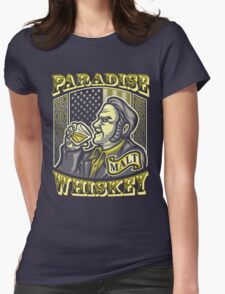Paradise Whiskey Womens Fitted T-Shirt
