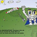 Euroman et José Manuel BARROSO en caricature by Binary-Options