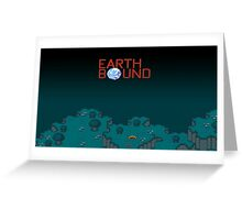 Earthbound Videogame Greeting Card