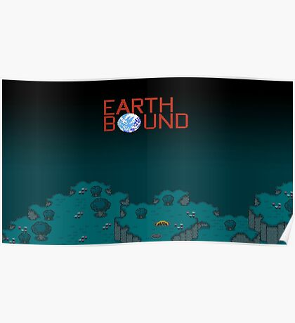 Earthbound Videogame Poster