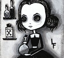 Olivia Creepy Girl  by Lupe  Flores