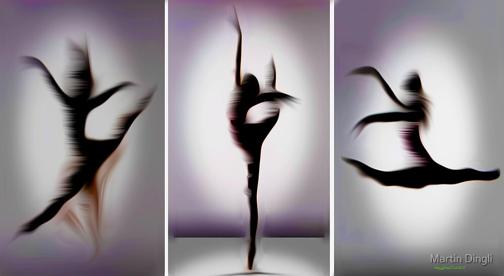 Floating Dance. From dance series. by Martin Dingli