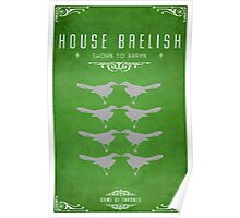 House Baelish Poster