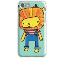 L is for Lion iPhone Case/Skin