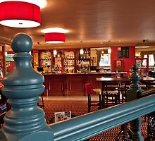 Looking towards main bar from upper longe by Peterwlsn