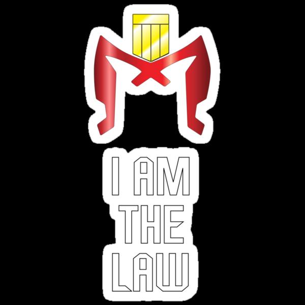 I AM THE LAW by Iain Maynard