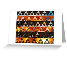 Four Elements Greeting Card