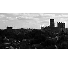 Over Durham City Photographic Print