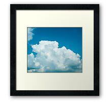 Blue skies 1 Framed Print