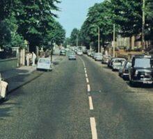 Abbey Road Kitties Sticker