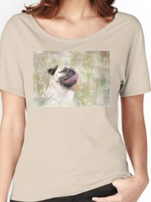 Pug Happiness Women's Relaxed Fit T-Shirt
