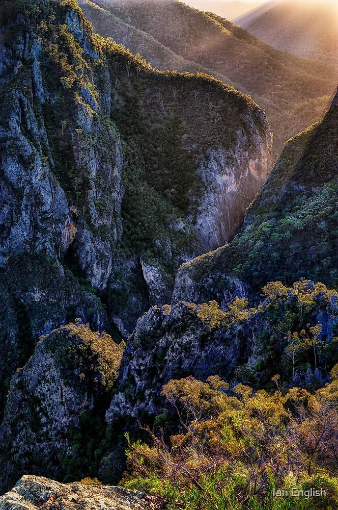 Bungonia Gorge Sunrise by Ian English