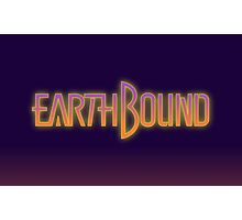 Earthbound text Photographic Print