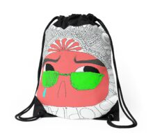 the narcissist bag! :D Drawstring Bag