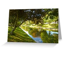 Hythe Royal Military Canal Greeting Card