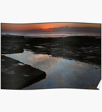 Beach Sunrise Poster