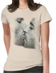 A KISS Womens Fitted T-Shirt