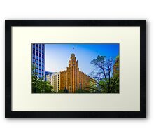 View to the Manchester Unity Building - Melbourne, Victoria Framed Print