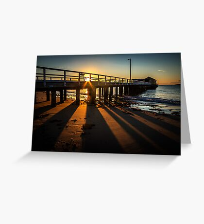 Sunrise at Queenscliff Greeting Card