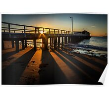 Sunrise at Queenscliff Poster