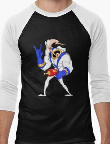 Funniest worm ever Men's Baseball ¾ T-Shirt