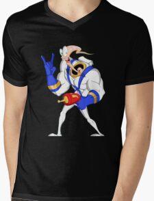 Funniest worm ever Mens V-Neck T-Shirt