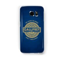 Gallifrey - No Gods or Kings, only Timelords iPhone Case Samsung Galaxy Case/Skin