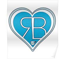 Rumbelle logo design. Poster