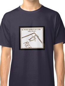 Paper clip - Another day at the office Classic T-Shirt