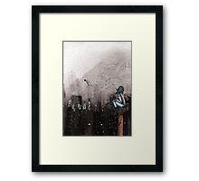 Clockwork Crows Framed Print