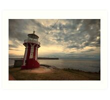 Leaning Lighthouse of Sydney Art Print