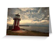 Leaning Lighthouse of Sydney Greeting Card