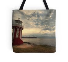 Leaning Lighthouse of Sydney Tote Bag
