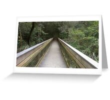 Bridge To ? Greeting Card