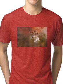 The Abstract World of Flowers Tri-blend T-Shirt