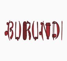 Burundi and traditional tools I Kids Tee