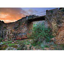 The Old Railroad Bridge Photographic Print