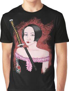 Female Ninja Graphic T-Shirt