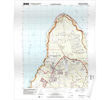 USGS TOPO Map Guam Ritidian Point 462403 2000 24000 Poster