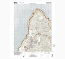 USGS TOPO Map Guam Ritidian Point 462403 2000 24000 One Piece - Long Sleeve