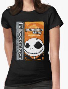 """Halloween Town """"Pumpkin King"""" - Pumpkin Beer Womens Fitted T-Shirt"""