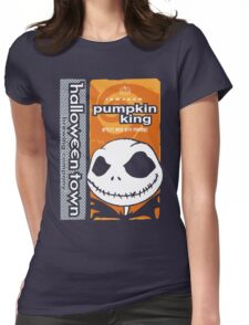 "Halloween Town ""Pumpkin King"" - Pumpkin Beer Womens Fitted T-Shirt"