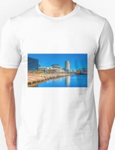 Reflections at Docklands - Melbourne, Victoria Unisex T-Shirt