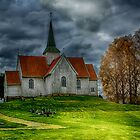 Autumn Church part II by Erik Brede