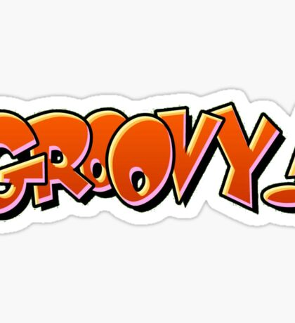 Groovy Sticker