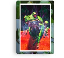 Bug Catcher Canvas Print