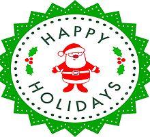 Happy holidays by chantelle bezant