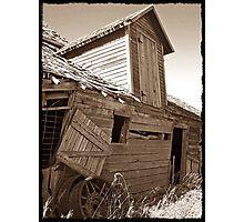 Rustic Memories Photographic Print