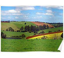 Gembrook Landscape - Dandenong Ranges Poster