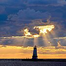 Lighthouse 10 by Debbie  Maglothin